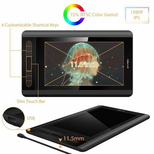 tableta grafica con pantalla xp pen artist 12 economica