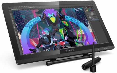 la mejor tablet con monitor xp pen artist 22 pro