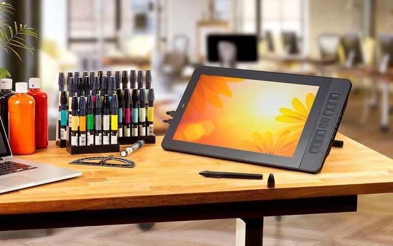 comprar tableta grafica con monitor barata
