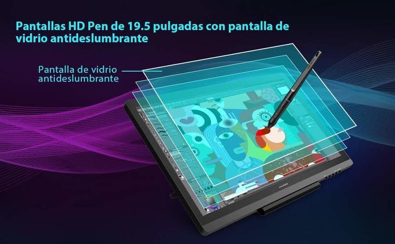 digitalizadora con monitor huion gt 191 v2 segunda mano